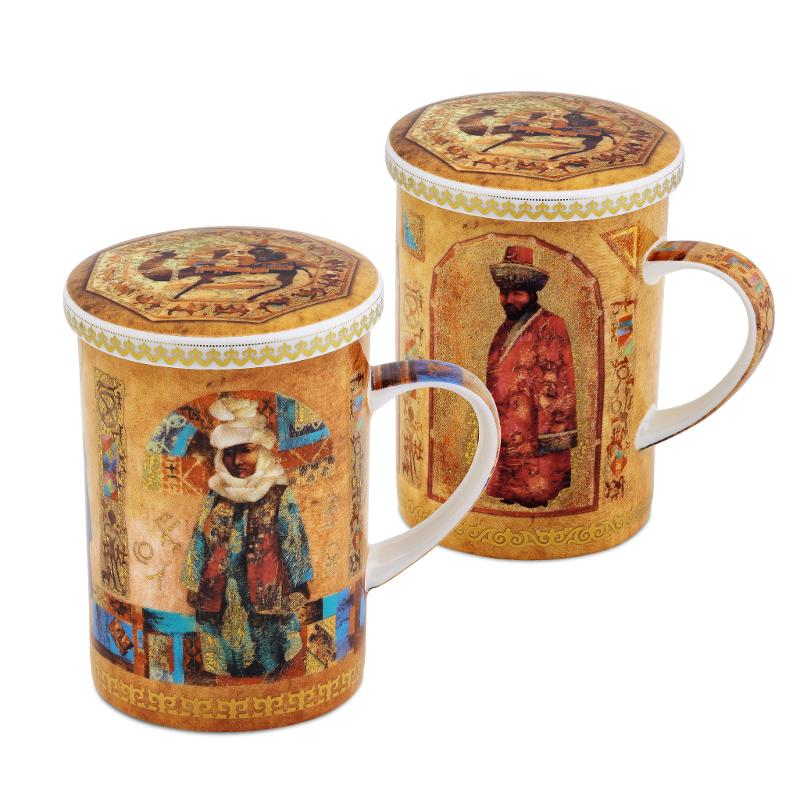 Set of two mugs Kazakhs