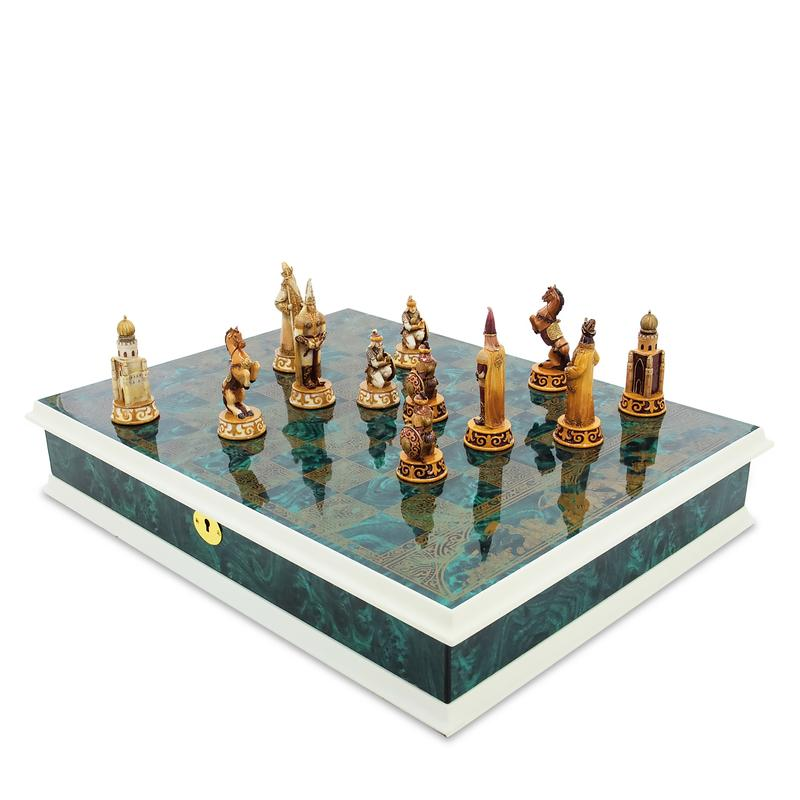 Warriors of the Great Steppe chess set