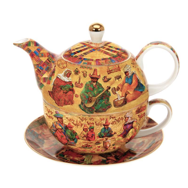 Чайник-кружка Казахи
