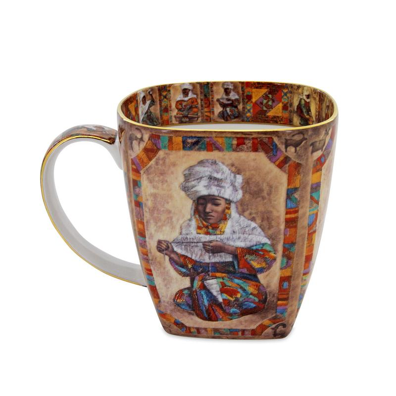 Mug (small) Kazakh women