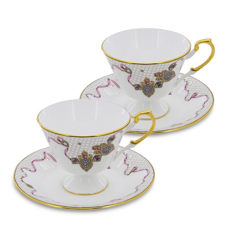Чайная пара из коллекции Казына