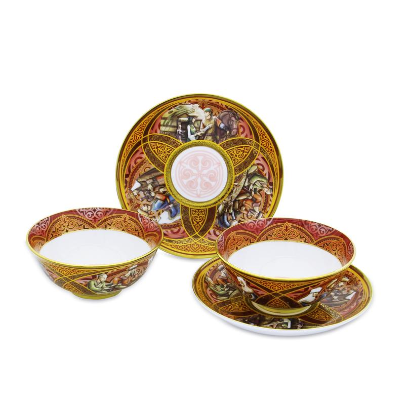 Hospitality tea set for 6 persons