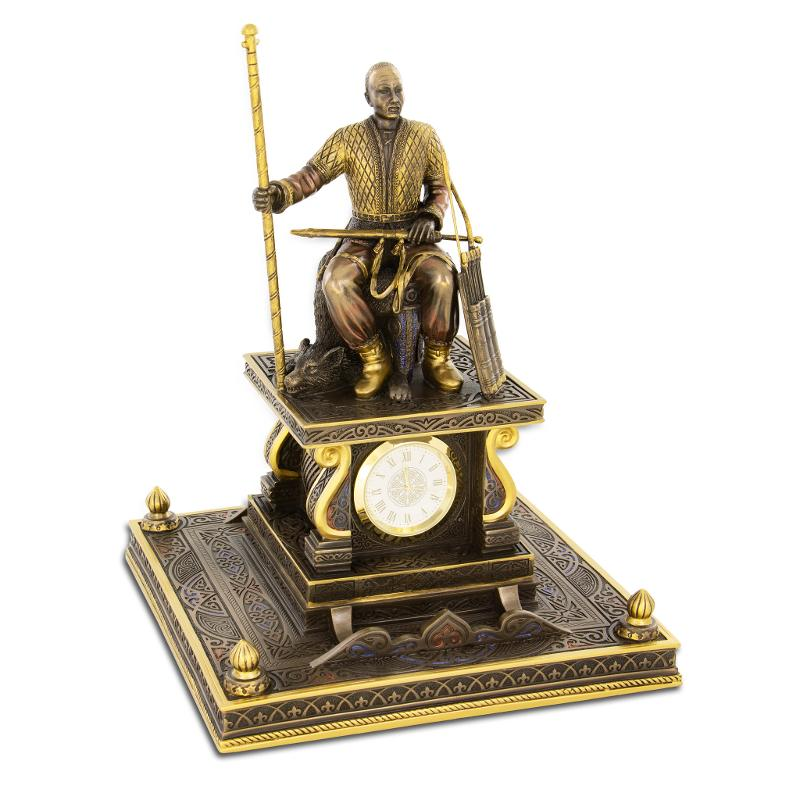 Sarmatian Chieftain desk clock