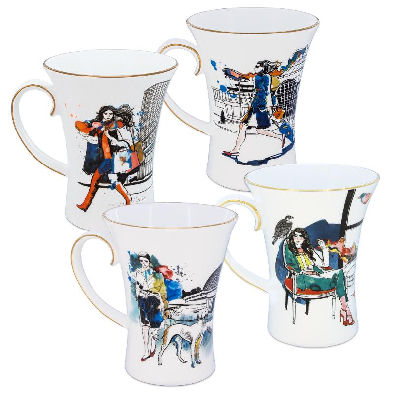 A set of mugs from Kazakhstan in my heart collection