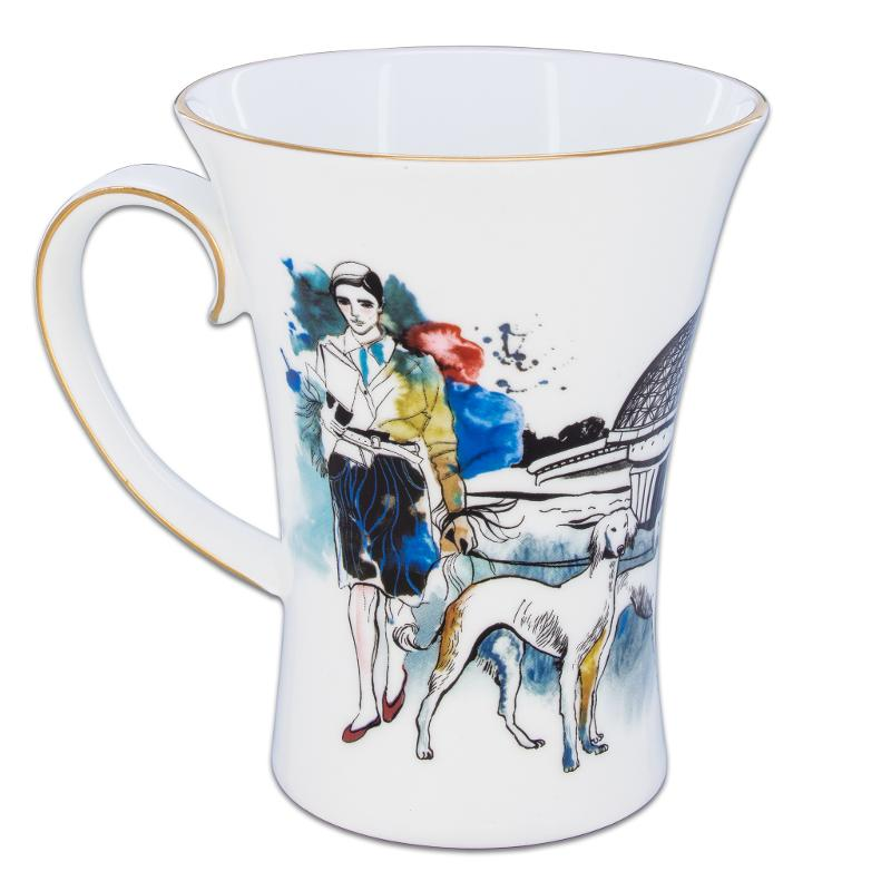 Promenad mug  from the Kazakhstan in my heart collection