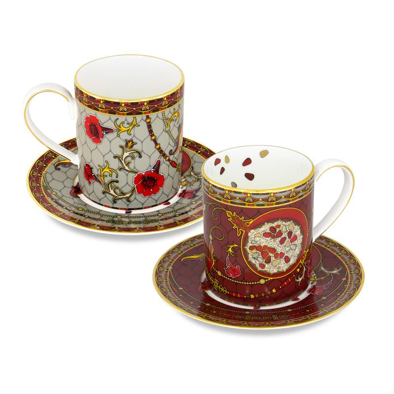 Set of two mugs «Anar»