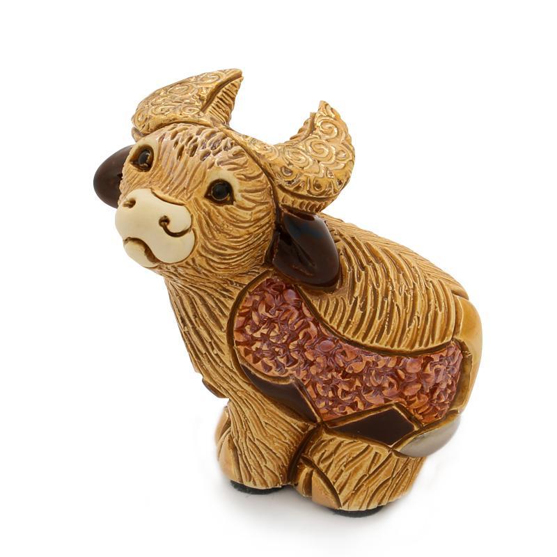 Bull desktop figurine
