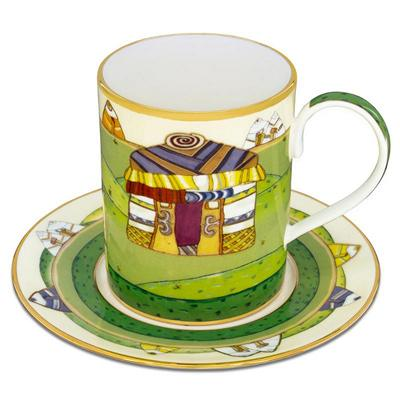 Nauryz mug with saucer