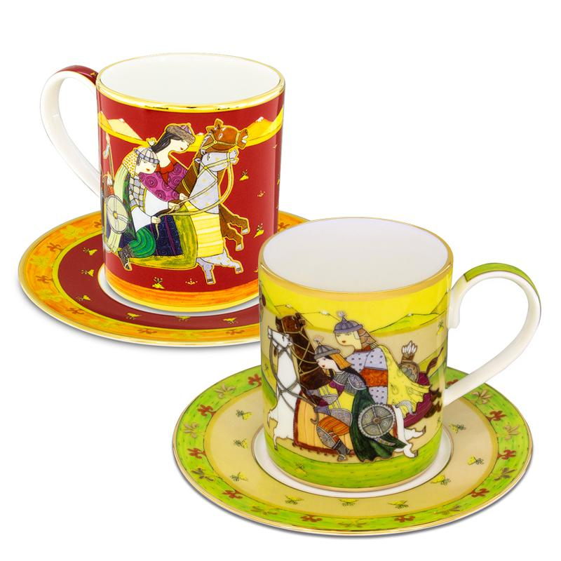 Set of two mugs Mahabbat