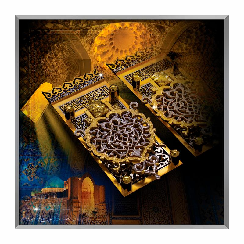 Holy gates panel painting/art