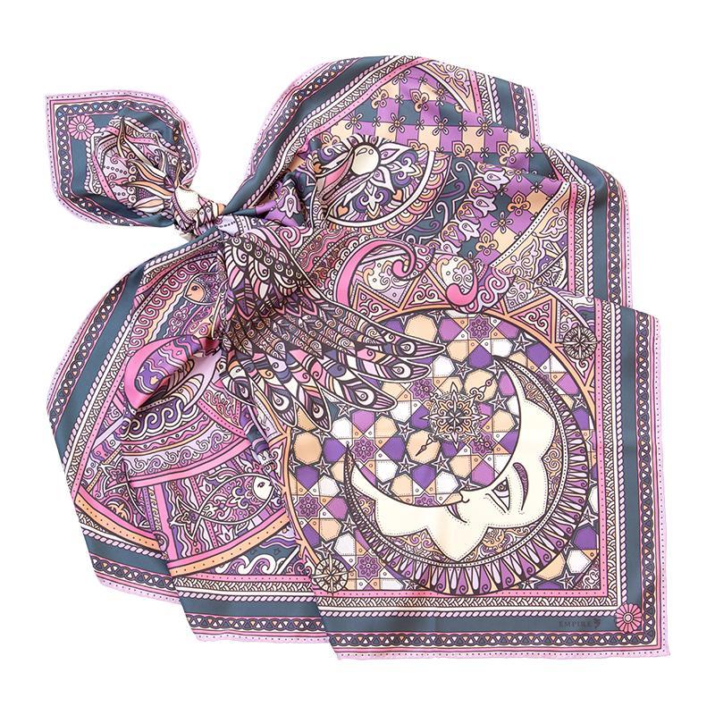 Платок Легенда фиолетовый