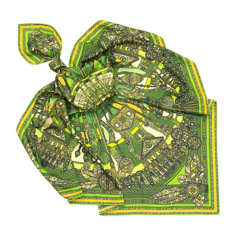 Платок Тумар зеленый