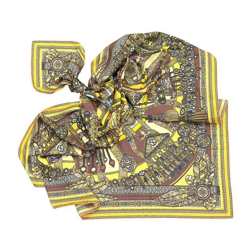 Платок Тумар желтый